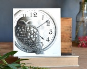 Tick-Tock Owl  - ECO Limited Edition Archival Print