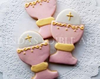 Pink Chalice Cookie (1 Dozen)