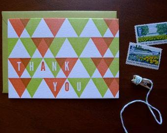 Triangle Thank You - Single