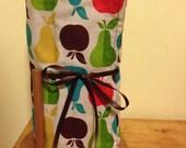 """12 Reusable """"Unpaper"""" Towels - Colorful Fruit Print"""