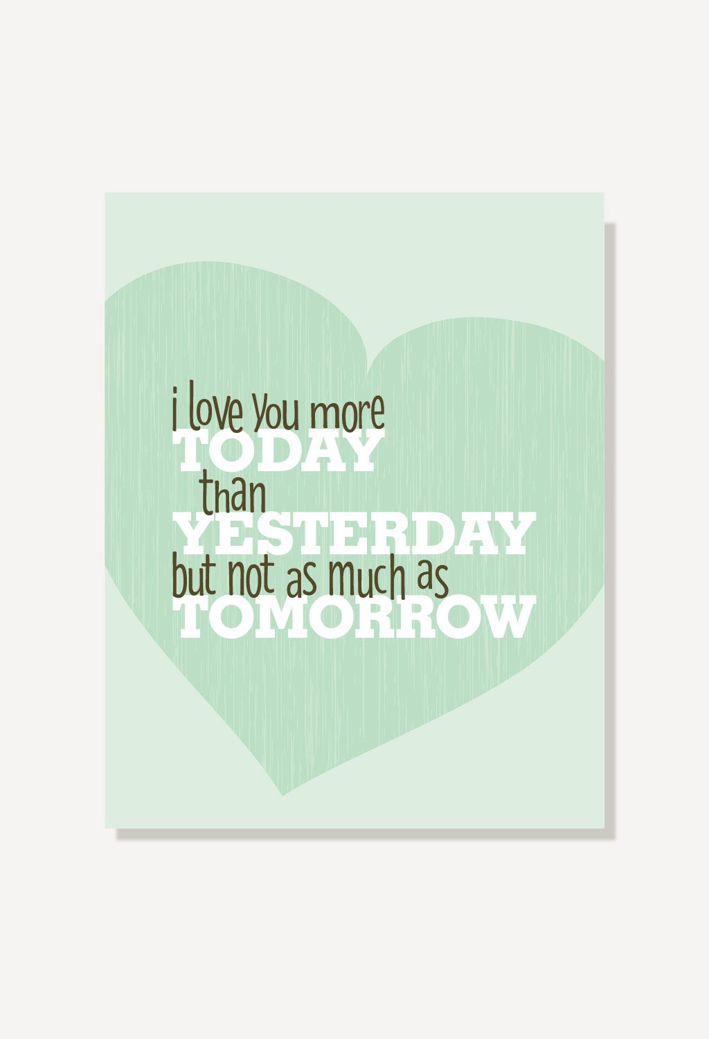 Love You More Quotes Love Quotes I Love You More Today Than Yesterday Rosemonde Gerard