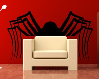 Vinyl Wall Art Decal Sticker Big Spider OSMB1165m