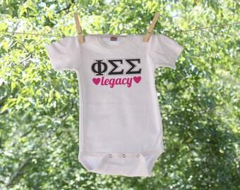 Customizable Sorority Infant Bodysuit - TW