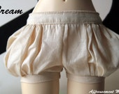 SD MSD slim YoSD Lati yellow unoa MNF Minifee bloomer shorts cream