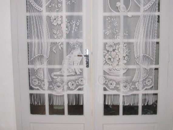 Cat Lace Curtains French Lace Curtains French Door Curtains