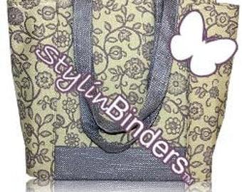 3 Inch Coupon Purse Binder Organizer, Purple Fashion