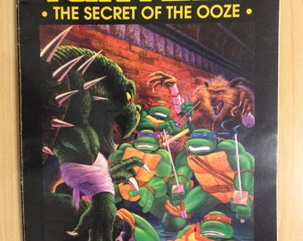 Eastman and Lairds Teenage Mutant Ninja Turtles The Secret of the Ooze The Official Movie Adaptation Comic Book
