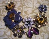 Vintage Bracelet Necklace Jewelry Parts Repurpose