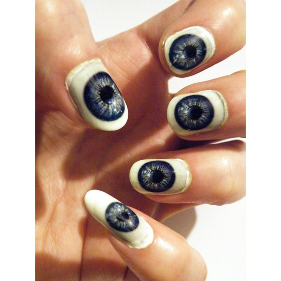 steel blue nail polish