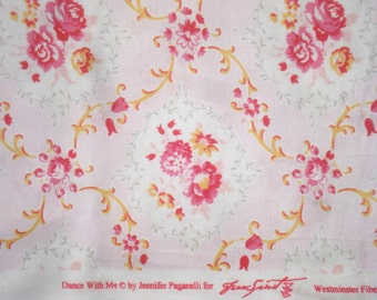 Jennifer Paganelli Kayla pink Dance with Me Sis Boom fabric FQ or yardage