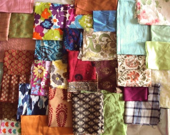 fabric scrap bundle