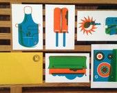Summa' Time Postcards