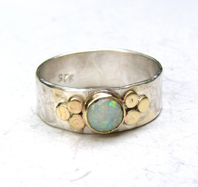 white opal ring promise rings engagement ring anniversary