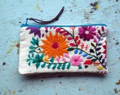 Change Purse Made in Mexico Embroidered Details