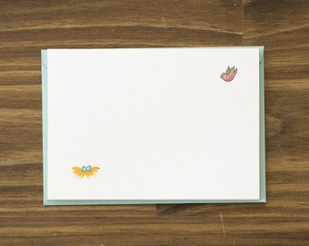 SALE bird and nest congratulations baby card