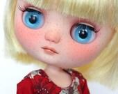 Ooak custom Middie Blythe doll 'Tweet'