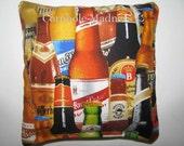 Bottled BEER Cornhole Corn Toss Bean Bag Baggo Bags Set of 4