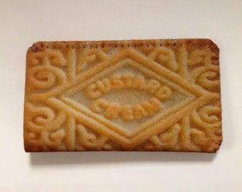 iPhone 5 iPhone 4S Case - iPhone 5 Sleeve - iPhone 4S Cover - iPhone Case Custard Cream Biscuit