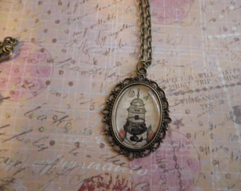 Picture of a Bird Cage Necklace