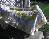 Crochet Baby Blanket/ Baby Afghan/ Crib Blanket