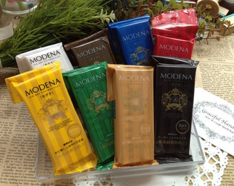 FREE SHIPPING - Japan Padico Modena Resin Clay 60g Clay - 8 colors for your own choice