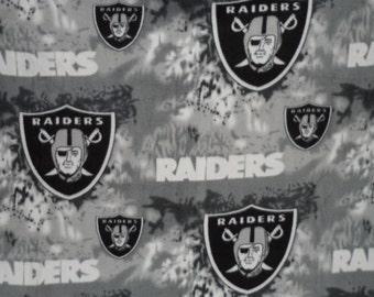 Sale NEW NFL Oakland Raiders Football Fleece Nap Blanket Throw