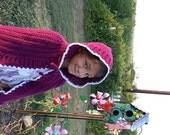 Crochet Princess Cape