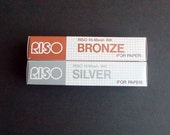 SILVER or BRONZE Hi-Mesh Gocco Ink (1 tube) - VERY limited stock!