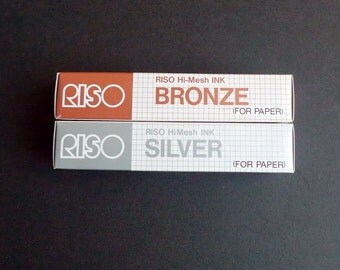 BRONZE Hi-Mesh Gocco Ink (1 tube) - VERY limited stock!
