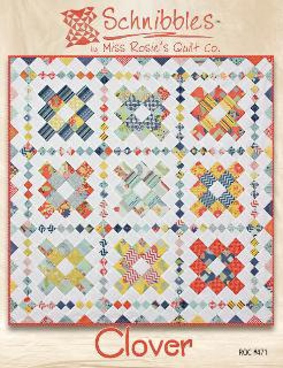 Clover - Schnibbles quilt pattern by Miss Rosie's Quilt Co.