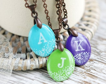 Custom Initial Necklace- Personalized Necklace