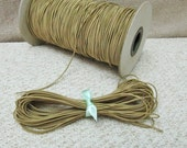 1mm Khaki Elastic Cord - Choose your length