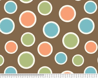 Mod Tod Brown Dots by Sherri Berry Designs for Riley Blake, 1/2 yard