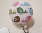 Swivel Clip Badge Reel in Chirp