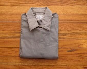 mens vintage Rockmount bib front western shirt