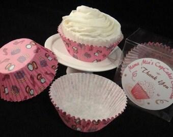 Fashonista Cupcake Liners
