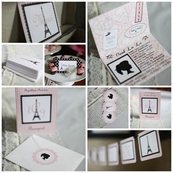 French Paris Ooh La La Party Package
