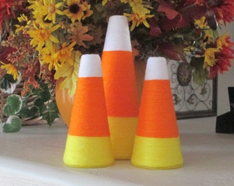 3 pc. Halloween Candy Corn - Halloween Decoration