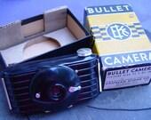 Eastman Kodak Co. Bullet Camera, circa 1936-1942, Rochester, NY, Antique, Collectible, Photography