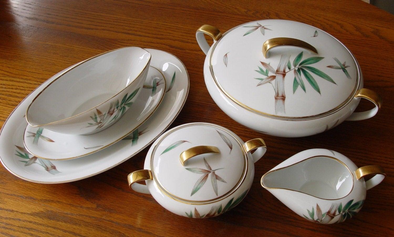 Vintage Noritake Fine China Canton 5027 Pattern
