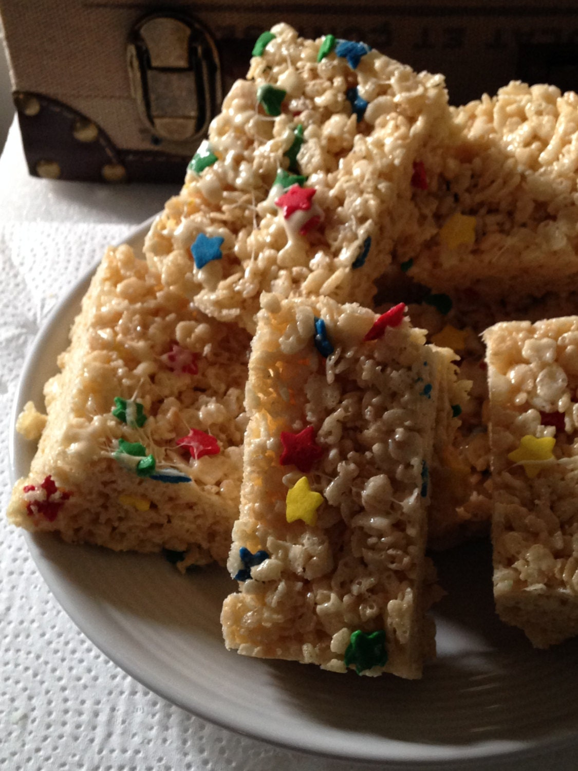 Rice Crispy Treat In Different Flavors And Shapes Your Pick