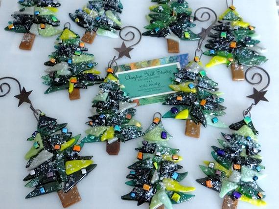 like this item - Glass Christmas Trees
