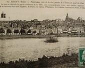 Joigny, Burgundy, France - Vintage French Postcard