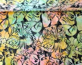 Batik Fabric Soft Colors Batik Fabric