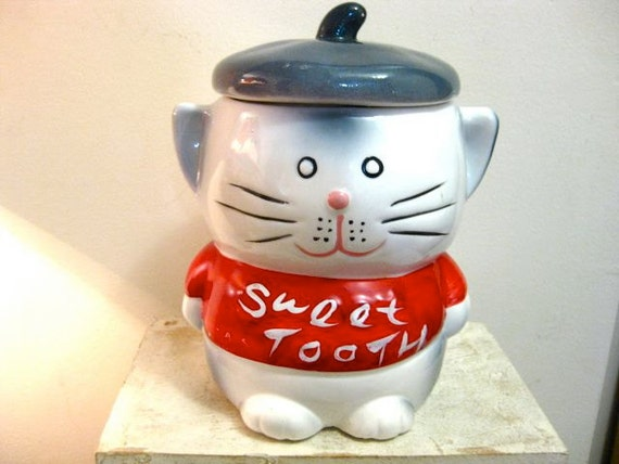 Vintage Novelty Cookie Jar Or Candy Jar Or By 3249vintageroad