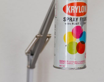 Made to Order Vintage Krylon Spray Paint Swivel Arm Architect  Lamp
