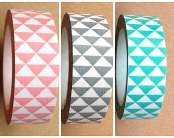 Triangles Washi Tape 15mm x 10m WT433