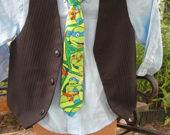 Teenage Mutant Ninja Turtle Boys  Necktie