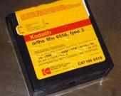 Kodak Kodalith Ortho Film 6556 Type 3, 35mm x 100 ft film roll, expired 10/1998