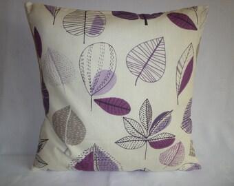 "BIG 22"" Funky Purple Damson Grape Designer Cotton Cushion Cover's. Pillowcases Shams Slips"